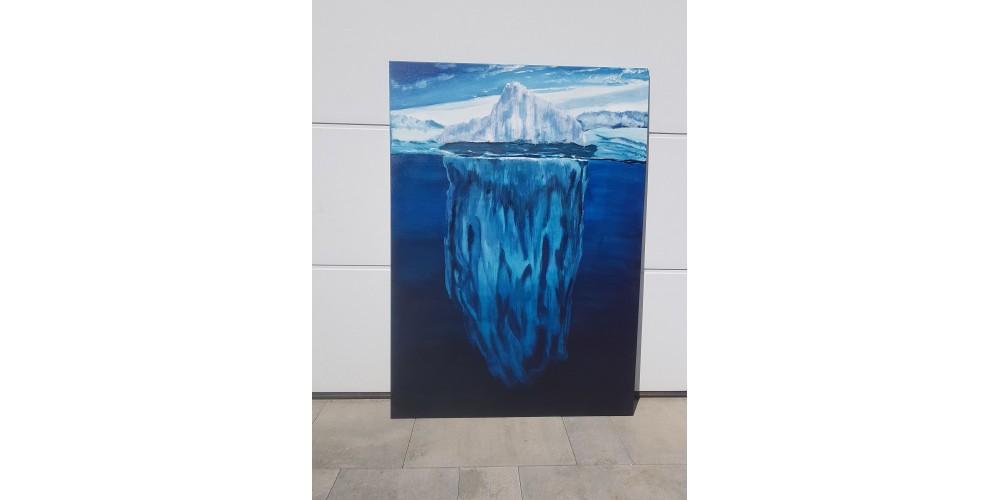 Obraz - Góra lodowa 1000x1400mm