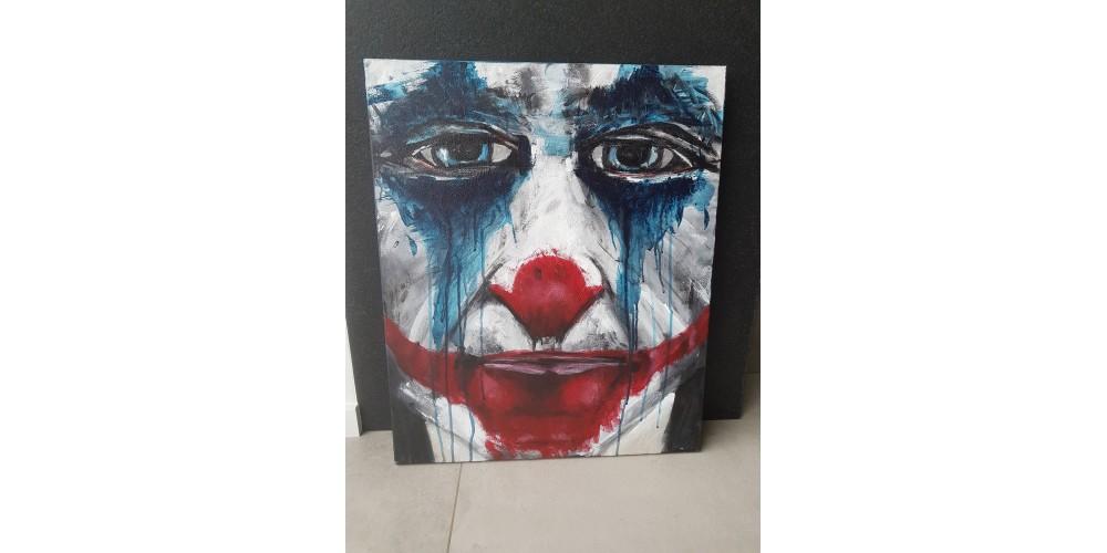 Obraz - Joker face 540x650mm