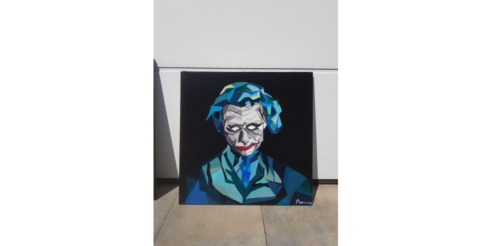 Obraz - Joker 600x600