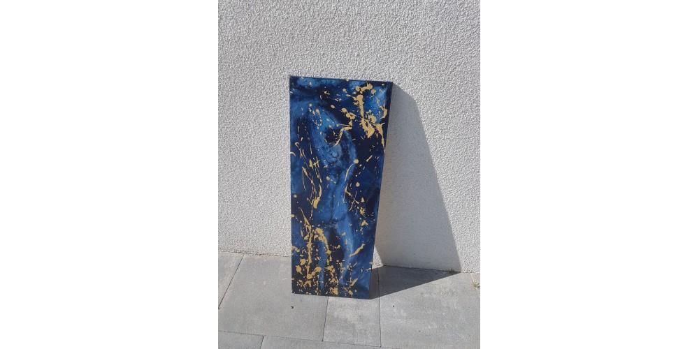Lady Blue 80x30
